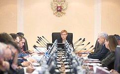 Л. Бокова: Совершенствование миграционной политики находится вцентре внимания Совета Федерации