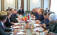 В. Матвиенко: Россия настроена навозобновление полноформатных отношений сМолдовой