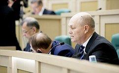 Вопросы банковского кредитования реального сектора экономики исовершенствования миграционных процессов вРоссии обсудили сенаторы на«парламентской разминке»