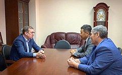 Продукция АПК Калмыкии имеет хорошие перспективы нароссийском рынке иобладает высоким экспортным потенциалом— А.Майоров