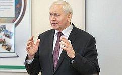 Н. Тихомиров: Старшее поколение может гордиться современной молодежью