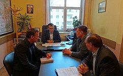 Н. Власенко провел прием граждан