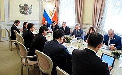 С. Лукин: Цель перекрестного года России иЯпонии– дальнейшее развитие иукрепление плодотворных ивзаимовыгодных отношений