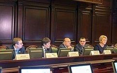 Н.Федоров: Законодателям важно быть вкурсе актуальных вопросов сегодняшнего дня, достижений науки итехнологий