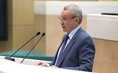 Сенаторам представлен доклад Рабочей группы помониторингу внешней деятельности, направленной навмешательство вовнутренние дела РФ
