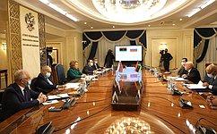 В. Матвиенко: Российско-ливийское сотрудничество попарламентской линии имеет большие перспективы