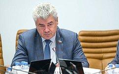 В. Бондарев: Страны– члены ОДКБ выступают ссогласованных позиций вделе законодательного обеспечения национальной, региональной имеждународной безопасности