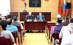 А. Шевченко провел рабочие встречи вмуниципальных образованиях Оренбургской области