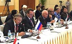 С.Жиряков иР.Зинуров приняли участие вдевятой пленарной сессии Азиатской парламентской ассамблеи вСиемреапе, Камбоджа