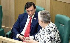 М.Кавджарадзе иИ.Тихонова приняли участие вцеремонии представления врио главы администрации Липецкой области