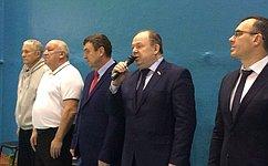 В.Лаптев: Развитие спорта вНовосибирской области— один изосновных приоритетов