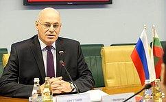 В. Круглый: Развитию российско-болгарских отношений поможет активизация межрегионального сотрудничества