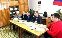 В.Новожилов обсудил c главами поселений иветеранами Вельского района подготовку кюбилею Победы