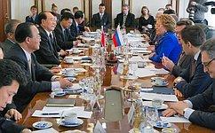 В. Матвиенко: Дружба ивзаимодействие между Россией иКНДР отвечают интересам народов двух стран