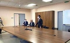 М. Кавджарадзе провел встречи струдовыми коллективами ряда производственных предприятий Липецкой области