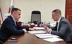 О.Алексеев: Доходная часть регионального бюджета может быть увеличена засчет имеющегося налогового потенциала