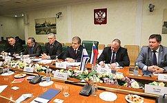 В. Джабаров провел встречу сделегацией Колледжа национальной безопасности Армии обороны Государства Израиль