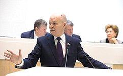 М.Щетинин представил итоги работы профильного Комитета СФ, имеющие практическое значение для развития АПК иприродопользования