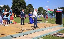 А. Артамонов принял участие впраздничных мероприятиях, посвященных 790-летию Мосальска