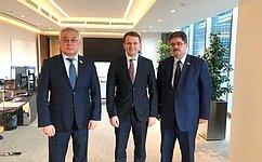 Б.Жамсуев иА.Широков провели встречу сруководством Министерства экономического развития Российской Федерации