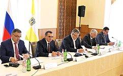 Н. Федоров: Комплексное развитие города-курорта Кисловодска постоянно находится вцентре внимания Совета Федерации
