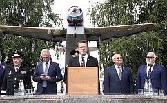 С.Рябухин принял участие вцеремонии выпуска авиационных специалистов вУльяновском институте гражданской авиации