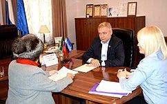 И. Ахметзянов провел прием граждан вг. Казань