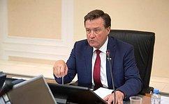 С.Рябухин провел совещание членов трехсторонней комиссии повопросам межбюджетных отношений отСФ