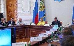 В. Матвиенко: УАстраханской области есть уникальные преимущества, набазе которых нужно успешно развивать региональную экономику