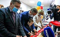 Р. Галушина: Открывшийся вНарьян-Маре технопарк «Кванториум» послужит дополнительному образованию детей