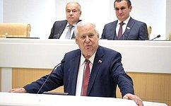 Н. Рыжков выступил врамках «Времени эксперта» назаседании Совета Федерации