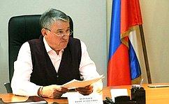 Ю.Воробьев провел личный прием граждан вВологде
