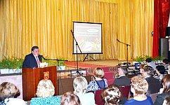 В.Тимченко посетил срабочей поездкой Яранский район Кировской области