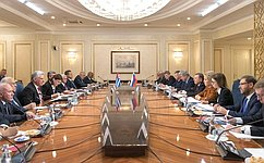 В. Матвиенко: Россия иКуба остаются настоящими союзниками идрузьями
