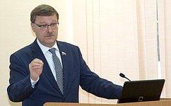 К.Косачев посетил Республику Марий Эл врамках рабочей поездки