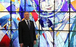 С. Березкин принял участие впраздничных мероприятиях вчесть Дня космонавтики