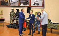 С.Лукин вручил вВоронеже награды детям-героям