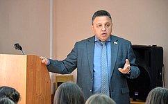 Будущим юристам важно понимать значение института парламентаризма— В.Тимченко