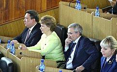 Т.Гигель: ВРеспублике Алтай развивается институт парламентского контроля