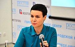 Входе работы вРостовской области И.Рукавишникова провела прием граждан