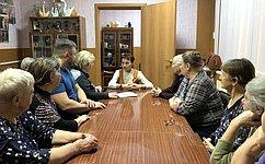 Т.Кусайко провела встречу счленами Общества инвалидов вМурманской области