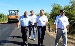 О. Алексеев посетил Краснокутский район Саратовской области