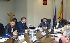 Реализация рекомендаций Совета Федерации поитогам Дней Воронежской области остаётся наособом контроле сенаторов— С.Лукин