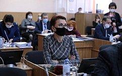 Т. Кусайко приняла участие вработе Мурманской областной Думы