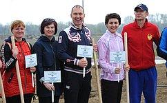 Т. Лебедева: Аллея Олимпийцев— символ побед ивысоких достижений спортсменов Волгоградской области