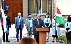 А. Александров: День знаний– один изосновных праздников нашей жизни