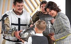 М. Павлова: Открывшаяся вЧелябинске выставка ожизни Александра Невского способствует патриотическому воспитанию молодежи