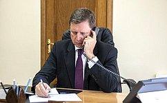 А. Епишин рассмотрел социально-правовые вопросы наприеме граждан вТверской области