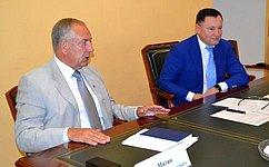 С. Митин обсудил вопросы оказания господдержки строительству малотоннажных исреднетоннажных судов рыбопромыслового флота