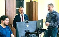 В. Кравченко: IT-предприятия Томской области могут стать одними изглавных операторов повнедрению врегионе цифровых решений